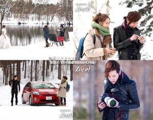 愛の雨、チャングンソク、ユナ主演、グンチャンと少女時代が出会った。