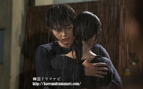 優しい男のソンジュンギとムンチェウォンが雨の中で切ない抱擁!